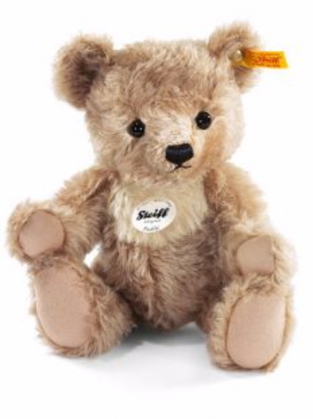 Steiff Paddy Teddy Bear, 28cm jointed mohair. EAN 027178. Free UK Postage.